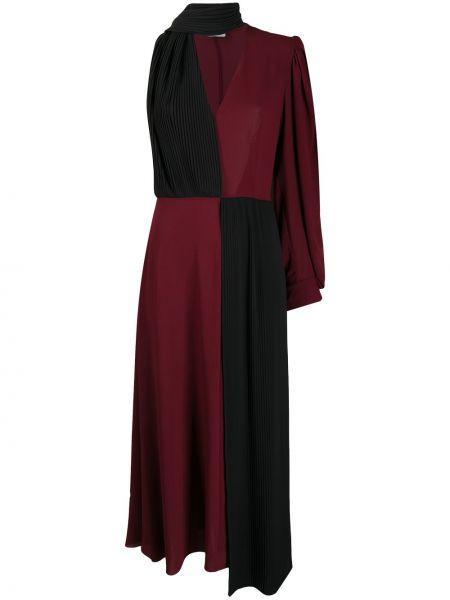 Fioletowy z rękawami sukienka z rękawem Givenchy