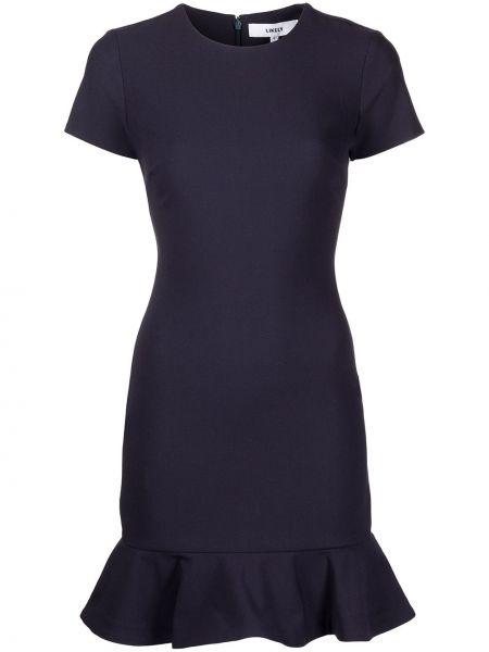 Niebieska sukienka krótki rękaw Likely