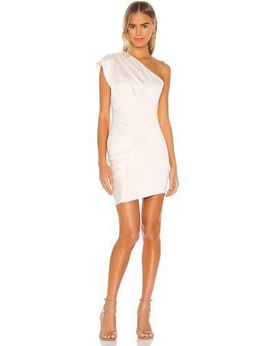Плиссированное платье - бежевое Elliatt
