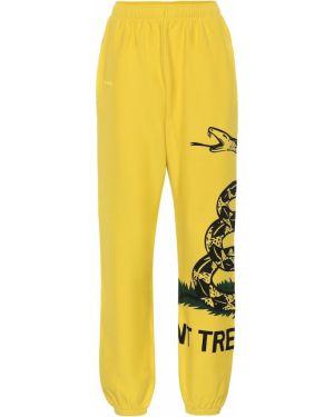Спортивные брюки классические желтый Vetements