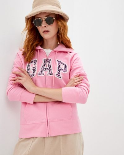 Розовая толстовка летняя Gap