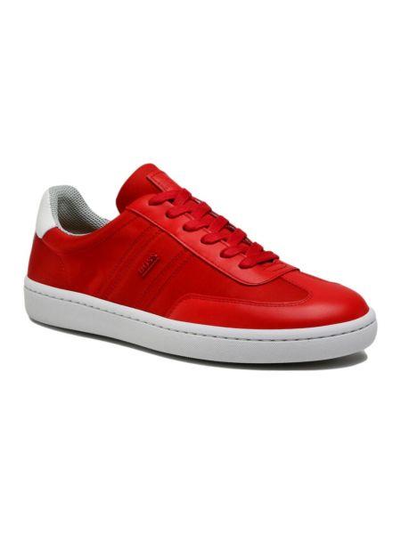 Czerwone sneakersy Hugo Boss