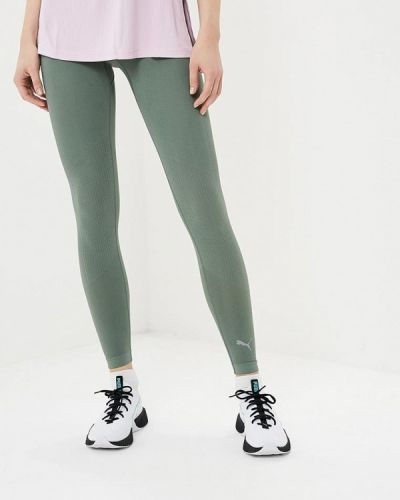 Зеленые леггинсы Puma