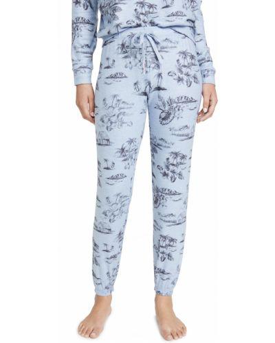Синие брюки на резинке с манжетами Pj Salvage
