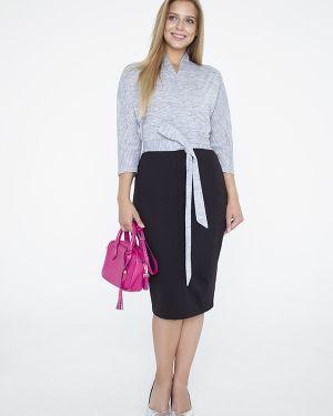 Платье с поясом с запахом кимоно Eliseeva Olesya