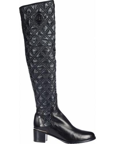 Ботфорты на каблуке кожаные Loretta Pettinari