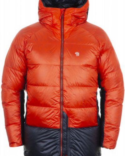 Длинная куртка утепленная с капюшоном Mountain Hardwear