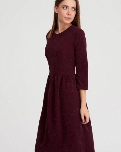 Вечернее платье - бордовое Evalution