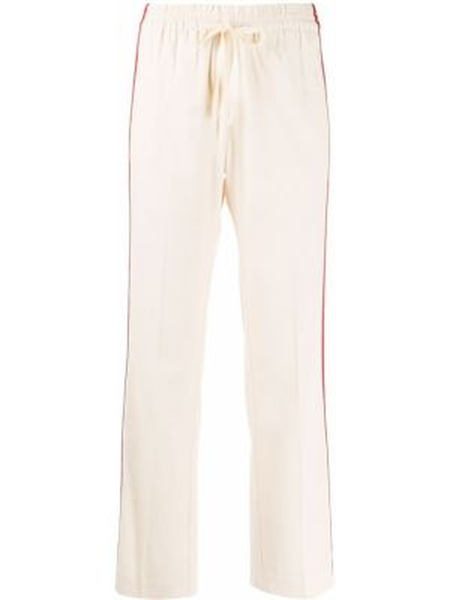Прямые укороченные брюки с нашивками с воротником с поясом Zadig&voltaire