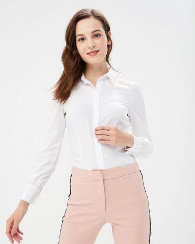 Белая блузка с длинным рукавом Love Republic