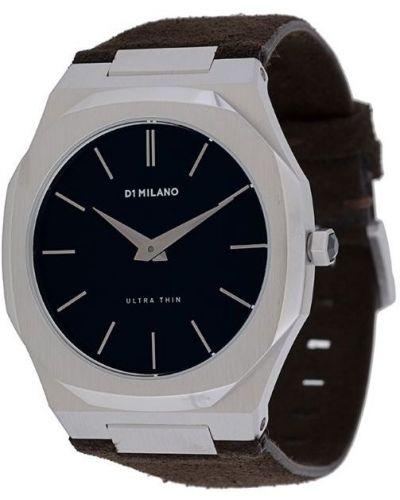 Часы коричневый D1 Milano