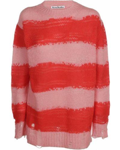 Różowy sweter Acne Studios