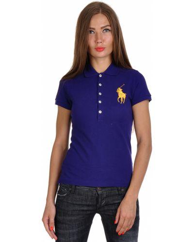 Фиолетовое поло Ralph Lauren