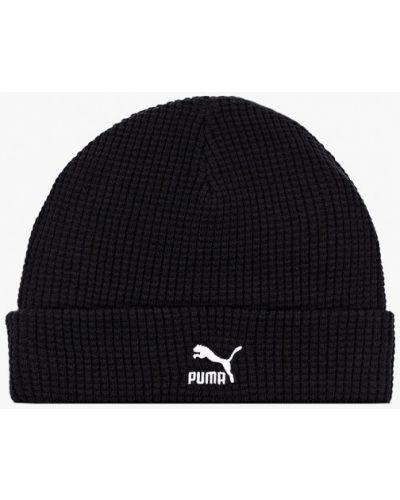 Черная шапка Puma