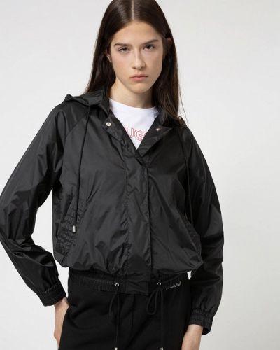 Облегченная черная куртка Hugo