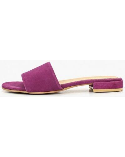 Сабо кожаные фиолетовый Gioseppo