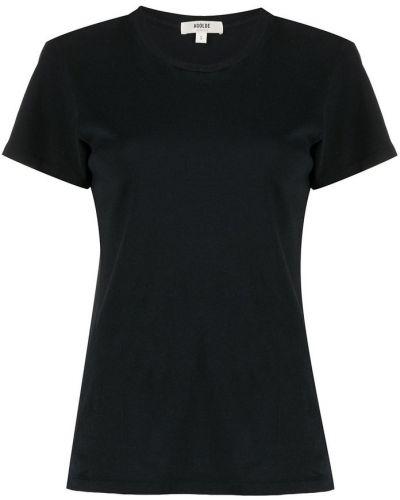 Czarna t-shirt Agolde