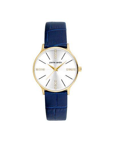 Часы на кожаном ремешке кварцевые Pierre Cardin