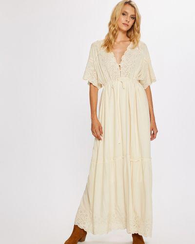 Платье макси в стиле бохо из вискозы Answear