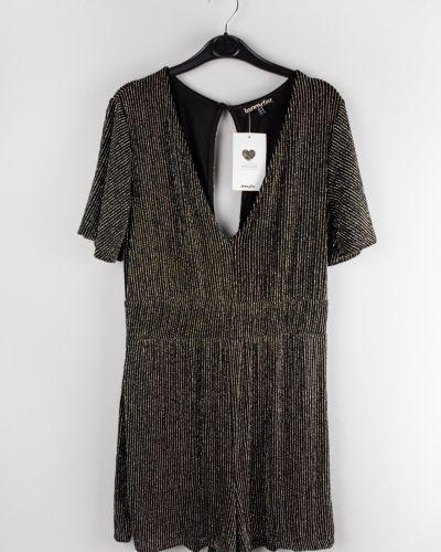 Черное трикотажное платье Jennyfer