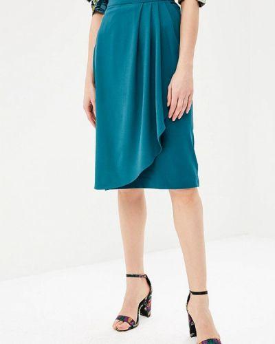 Зеленая юбка весенняя Zarina