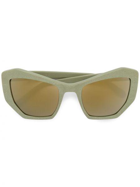 Zielone okulary Prism