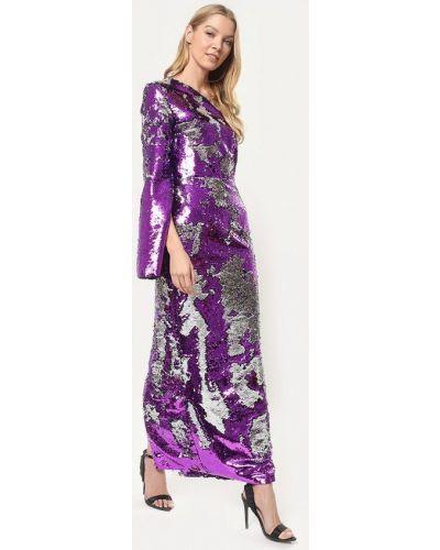 Вечернее платье осеннее фиолетовый Tutto Bene