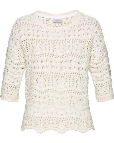 Бежевый пуловер Bonprix