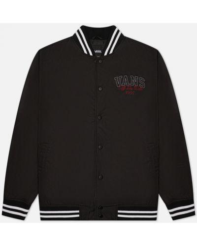 Черная куртка из полиэстера Vans