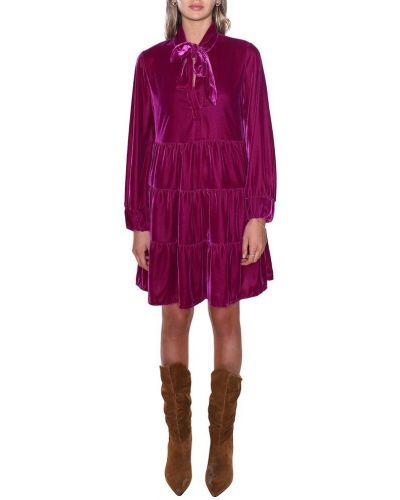 Sukienka - fioletowa Tensione In