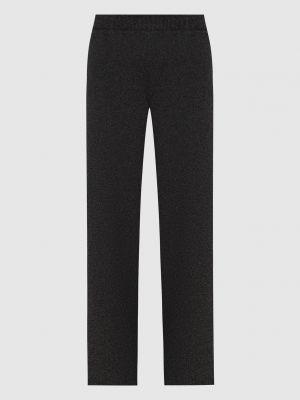 Кашемировые прямые серые брюки Loro Piana