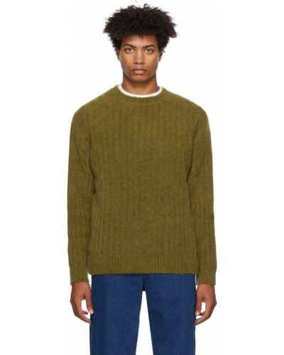 Sweter moherowy - zielony Schnaydermans