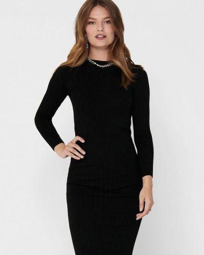 Черное прямое платье Jacqueline De Yong