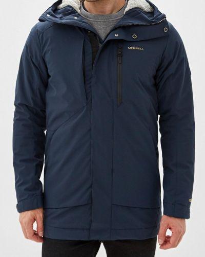 Утепленная куртка осенняя синяя Merrell