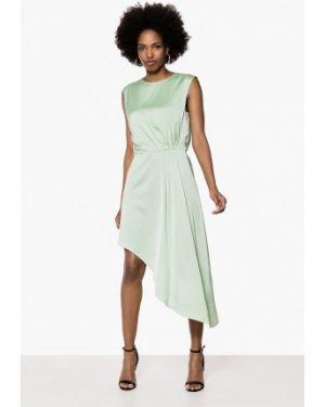 Платье прямое зеленый Ivyrevel