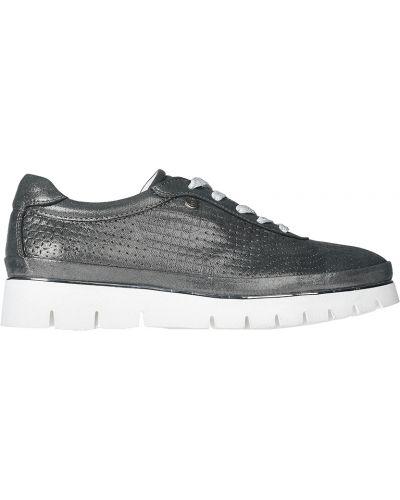 Кожаные туфли - серебряные Lab-milano