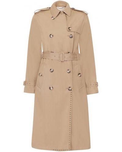 Пальто бежевое пальто-тренч Valentino