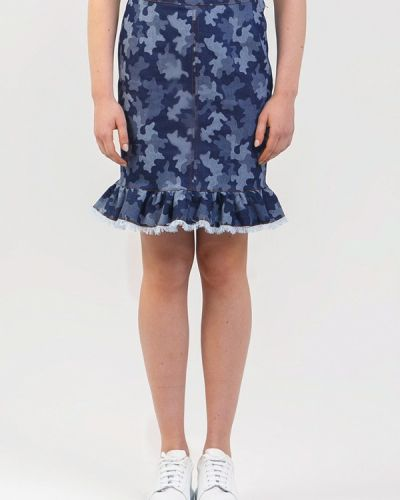 Синяя юбка Dasti