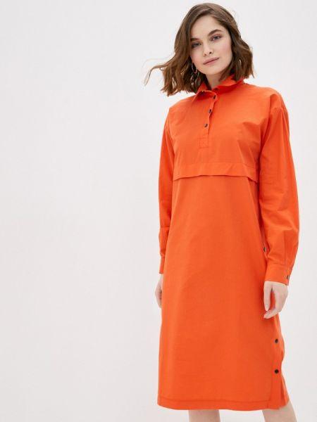 Платье - оранжевое Tantino