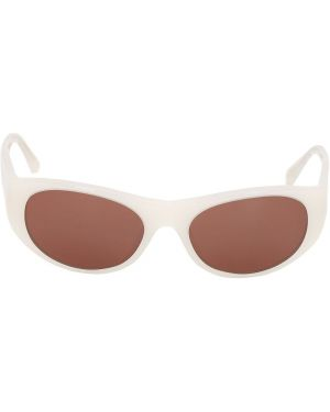 Белые солнцезащитные очки Oliver Peoples