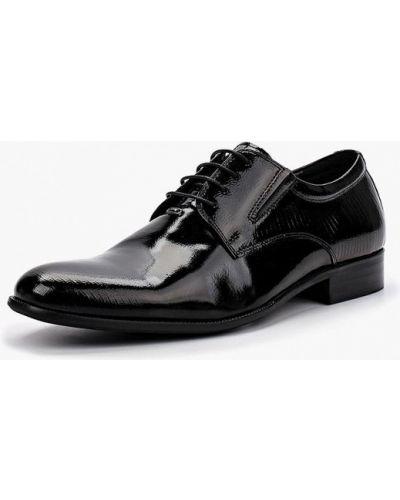 Черные туфли лаковые Dino Ricci