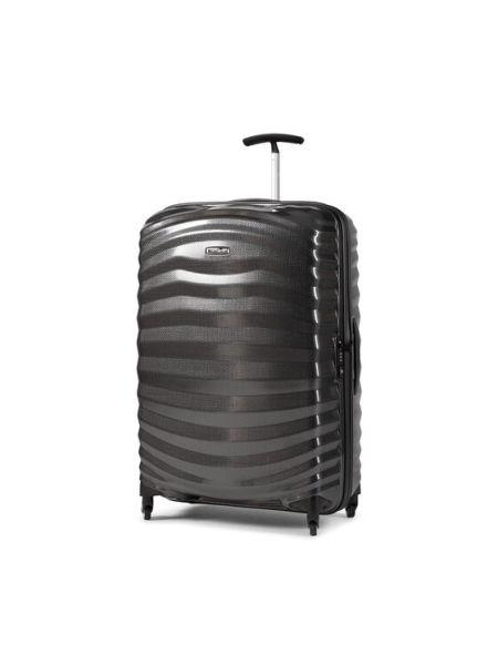 Czarna walizka duża Samsonite