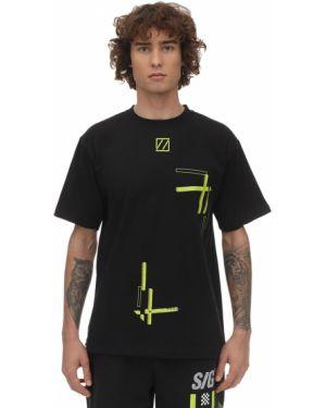 Czarny t-shirt bawełniany Still Good