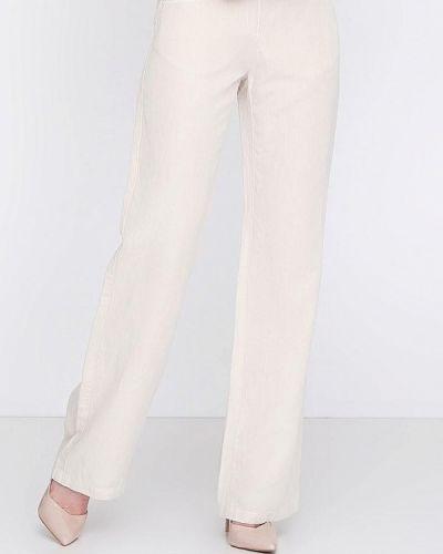 Бежевые брюки осенние Lagrand