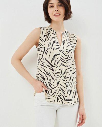 Блузка без рукавов бежевый Marks & Spencer