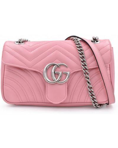 Torebka - różowa Gucci