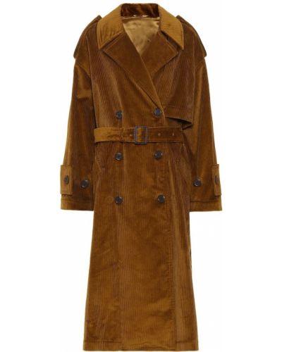 Пальто с поясом вельветовое Acne Studios