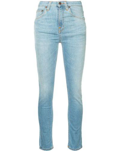 Джинсы-скинни mom классические Nudie Jeans Co