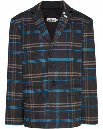 Классический пиджак в клетку оверсайз Mardo._