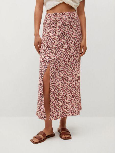 Spódnica - różowa Mango